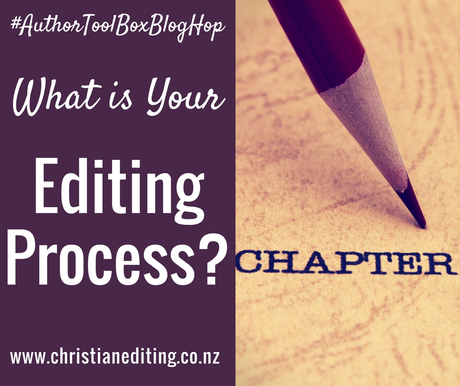 What is Your Editing Process?