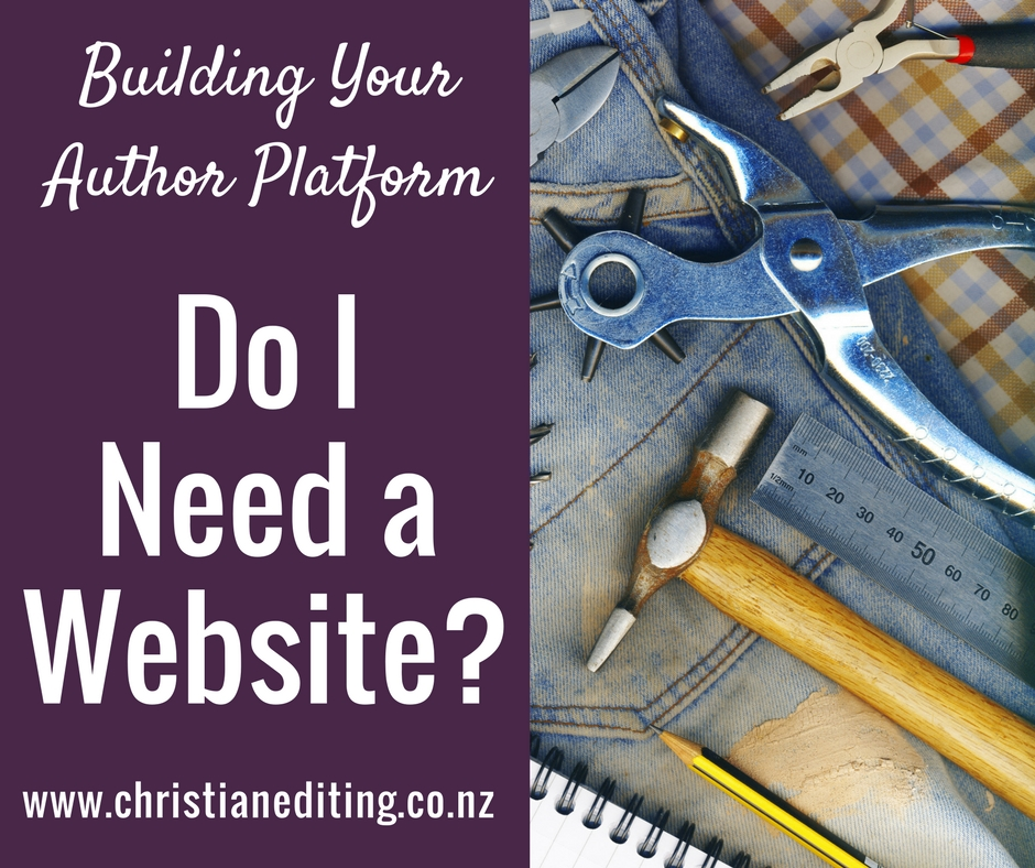 Building Your Author Platform: Do I Need a Website?