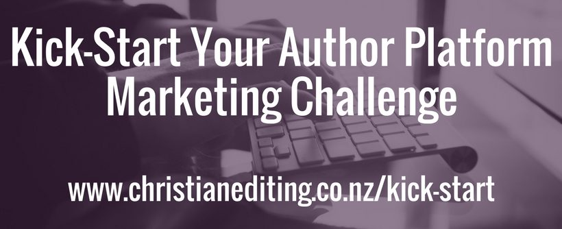 Kick-Start Your Author Platform Marketing Challenge