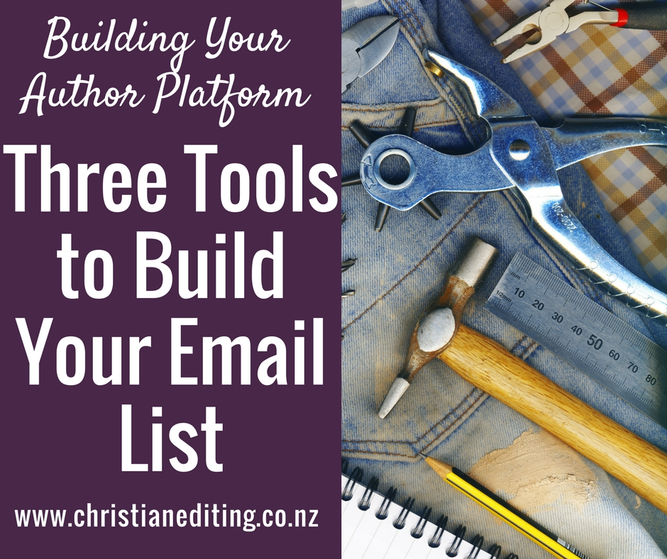 Using BookFunnel, Instafreebie, or MyBookCave to Build Your Email List