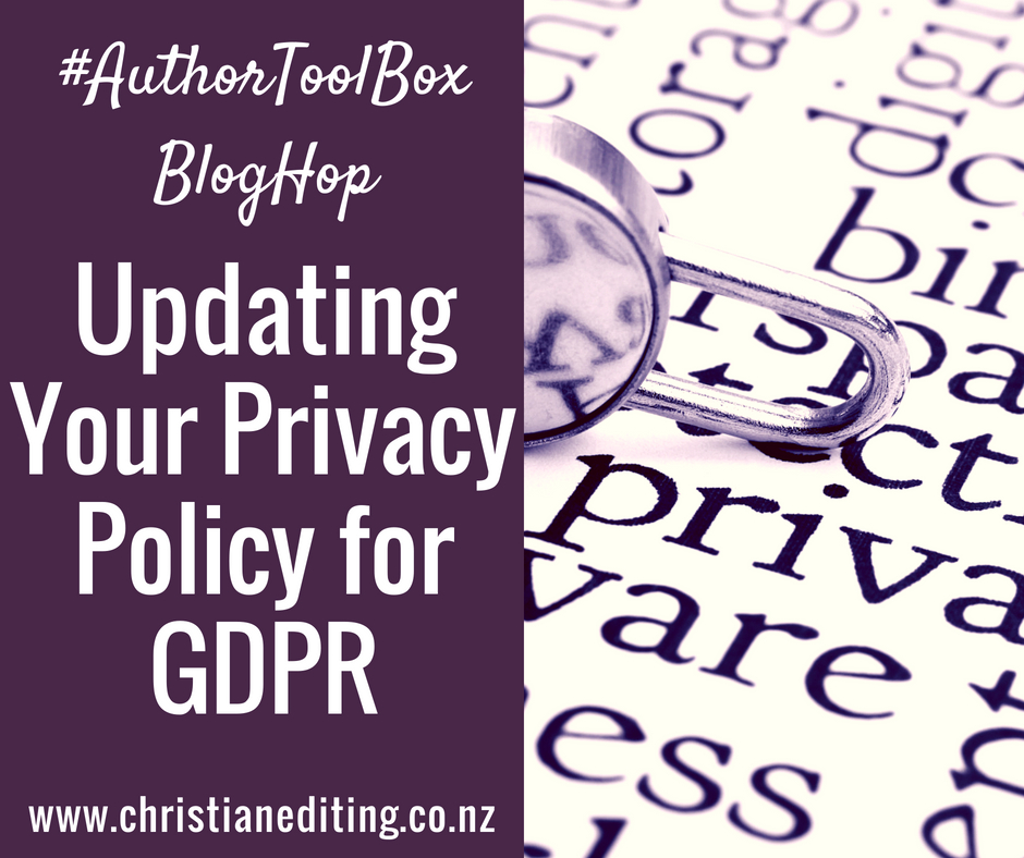 Updating Your Privacy Policy for GDPR