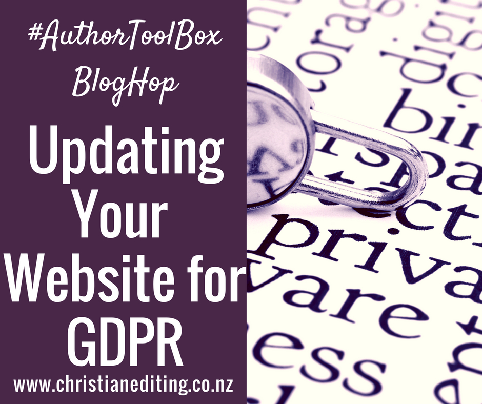 Update Your Website for GDPR