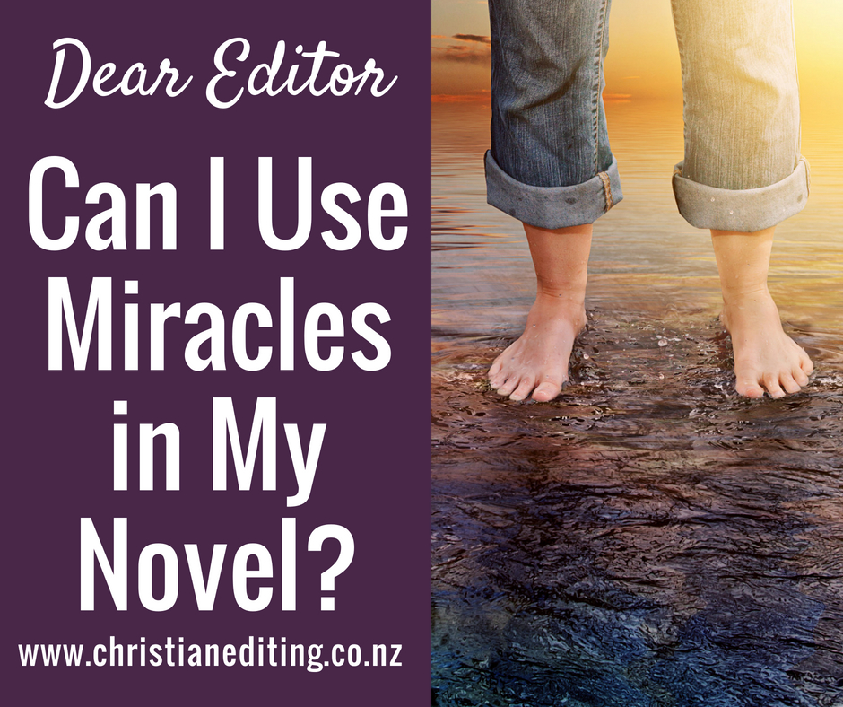 Can I Use Miracles in My Novel?
