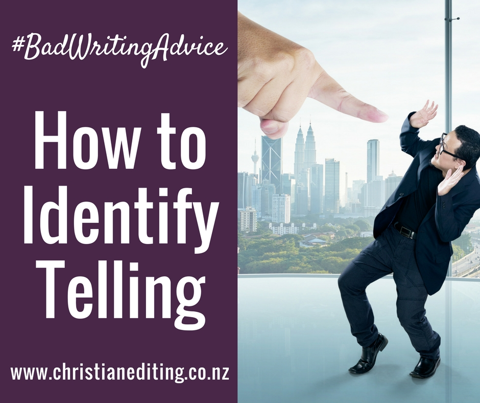 Show, Don't Tell How to Identify Telling