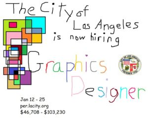 Advertisement for Graphic Designer