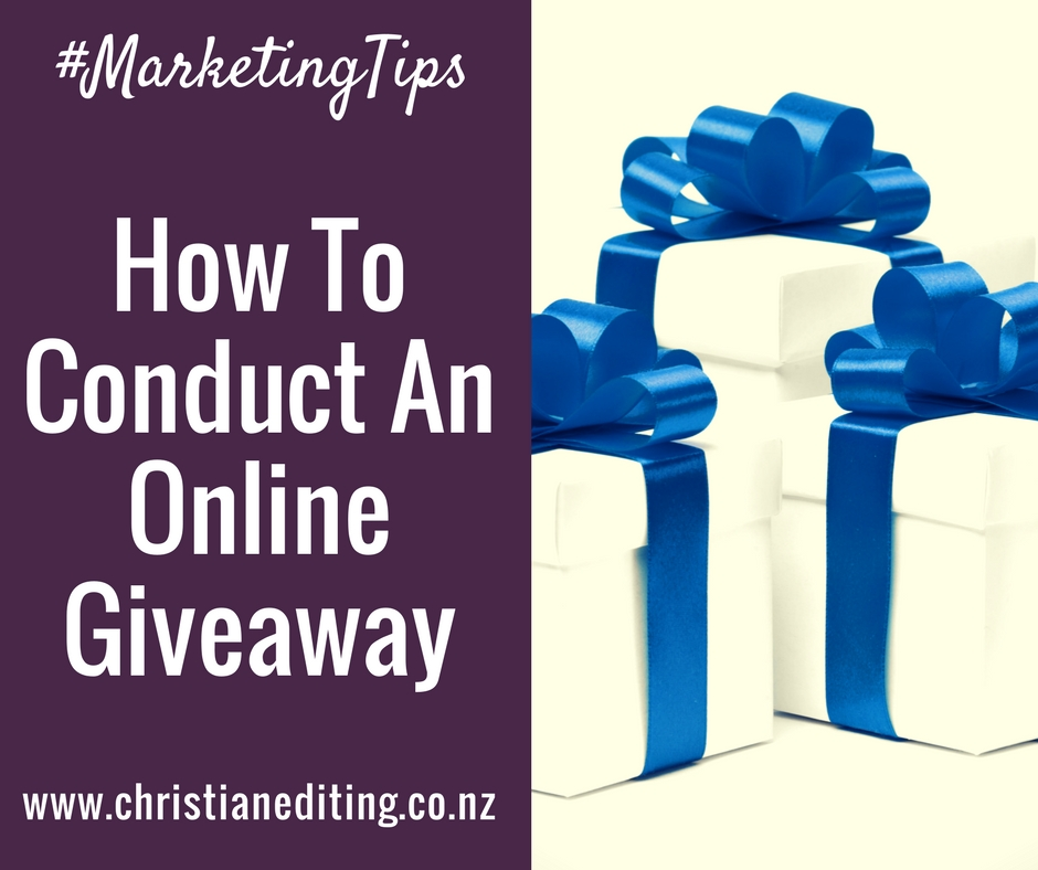 How To Conduct An Online Giveaway