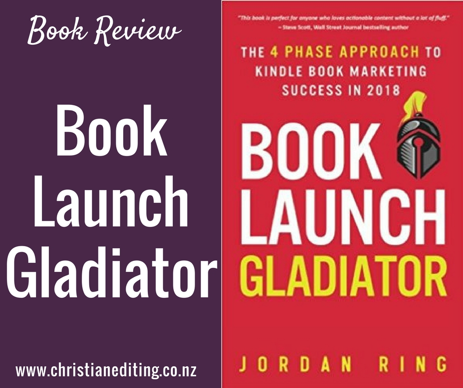 Book Review - Book Launch Gladiator by Jordan Ring