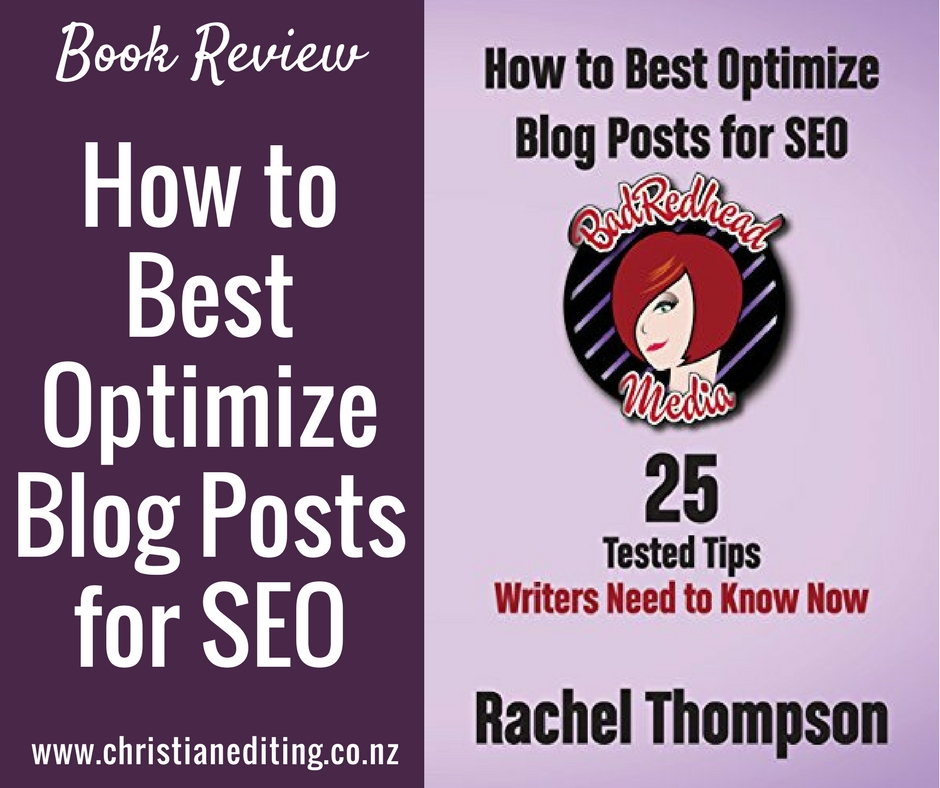 Book Review | How to Best Optimize Blog Posts for SEO
