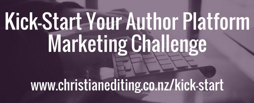 Kick-Start Your Author Platform Marketing Challenge