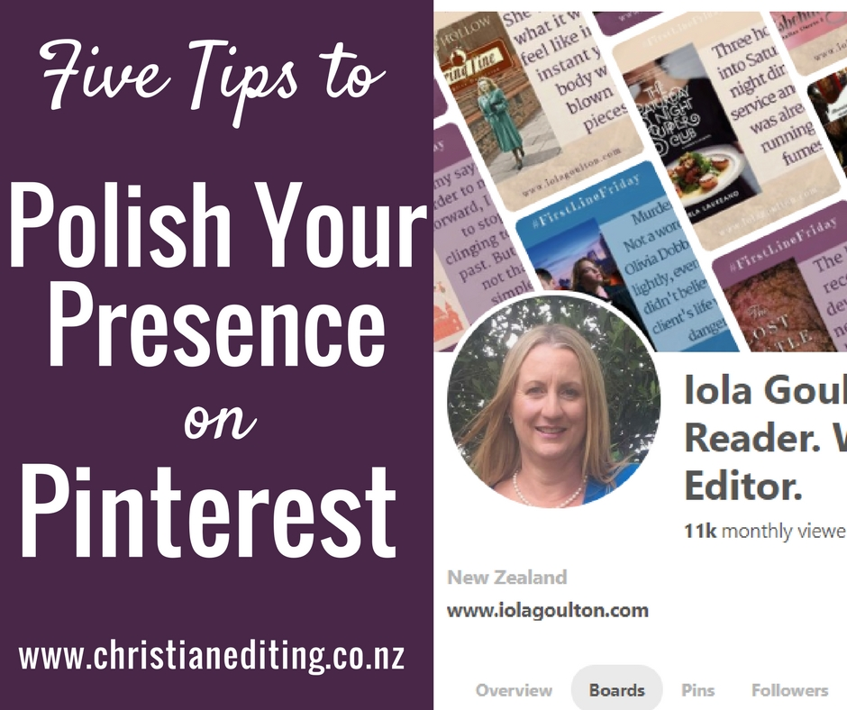 Five Tips to Polish Your Presence on Pinterest