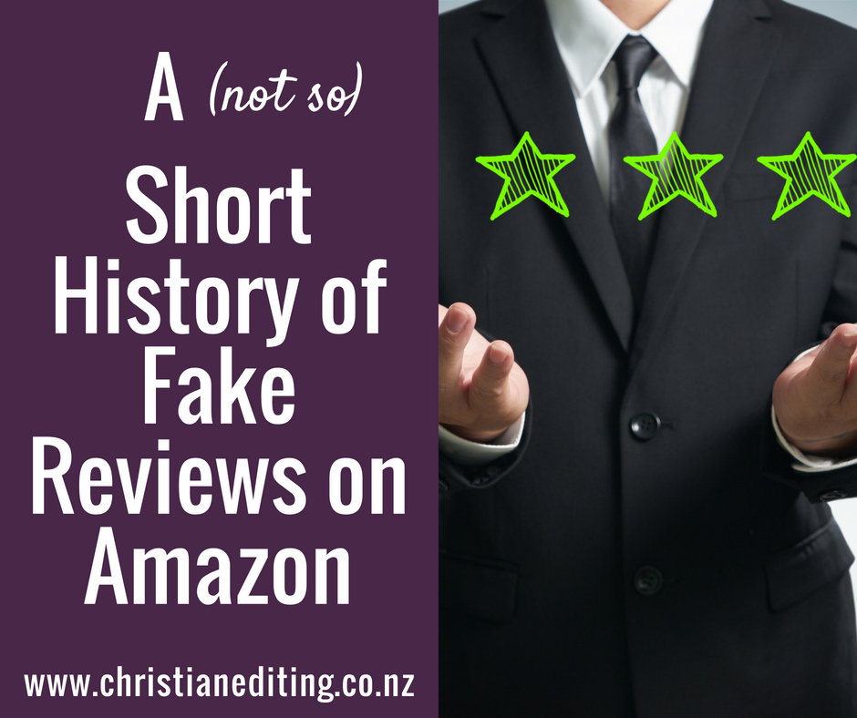 A (not so) Short History of Fake Reviews on Amazon