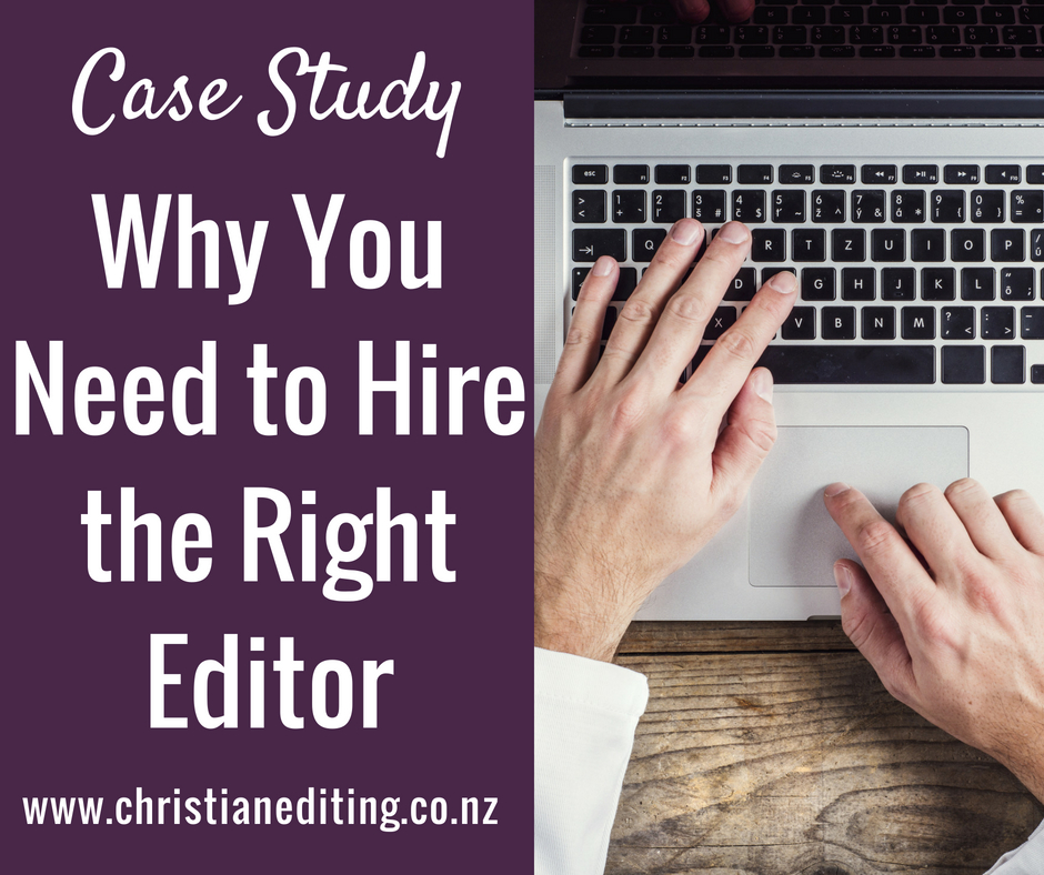 Why You Need to Hire the Right Editor