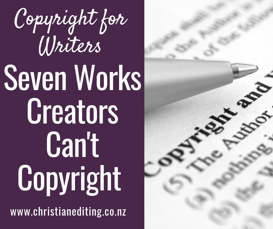 Seven Works Creators Can't Copyright—And Why Not