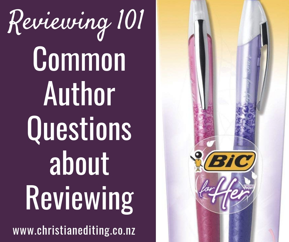 Common Author Questions about Reviewing