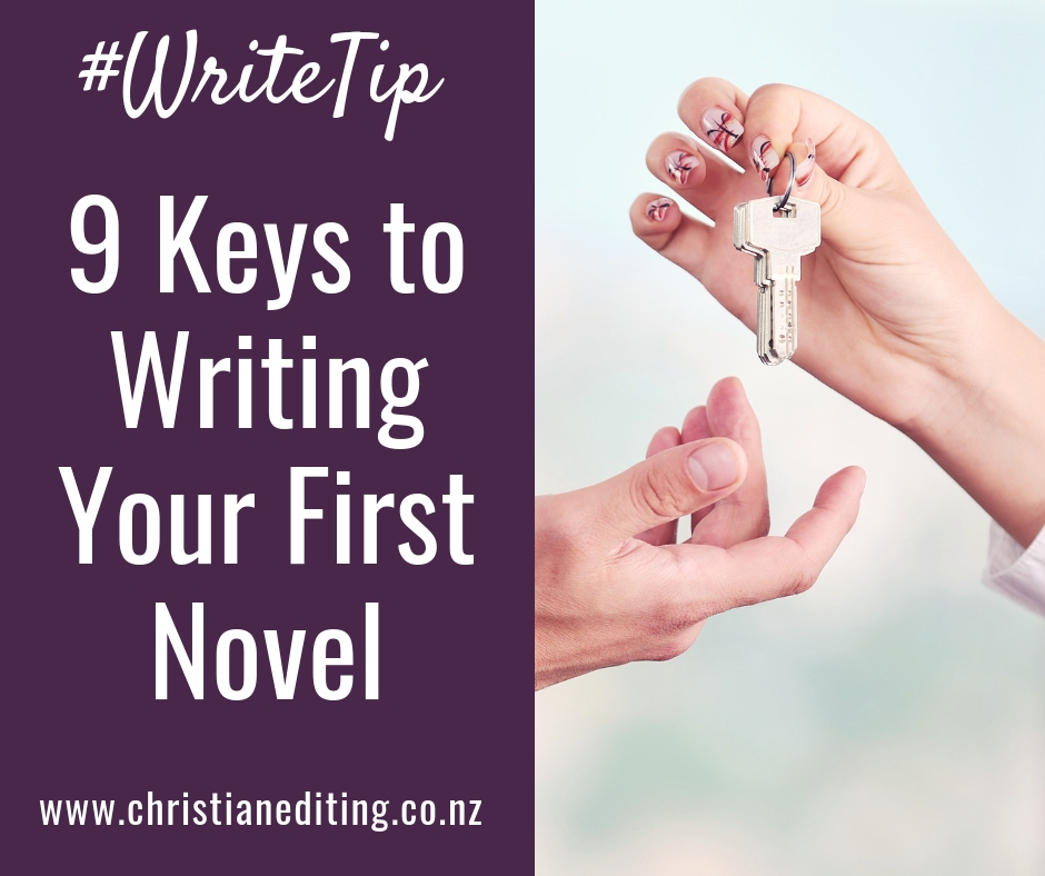 9 Keys to Writing Your First Novel