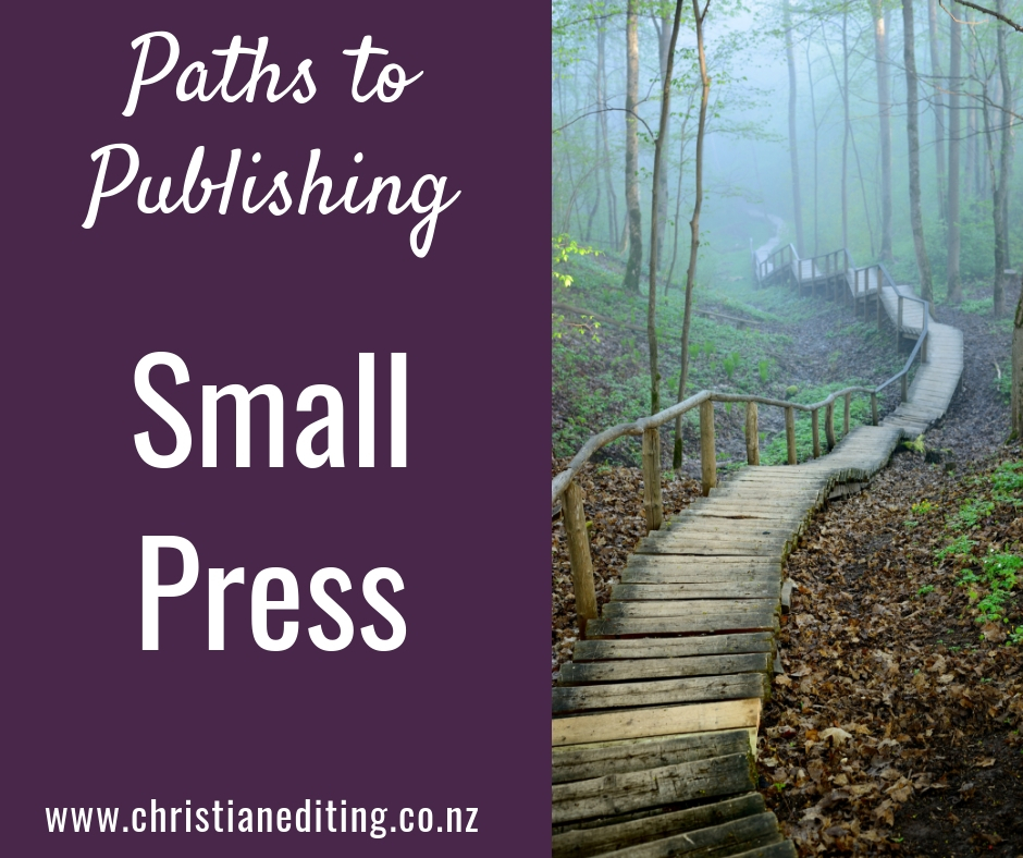 Paths to Publishing - Small Press