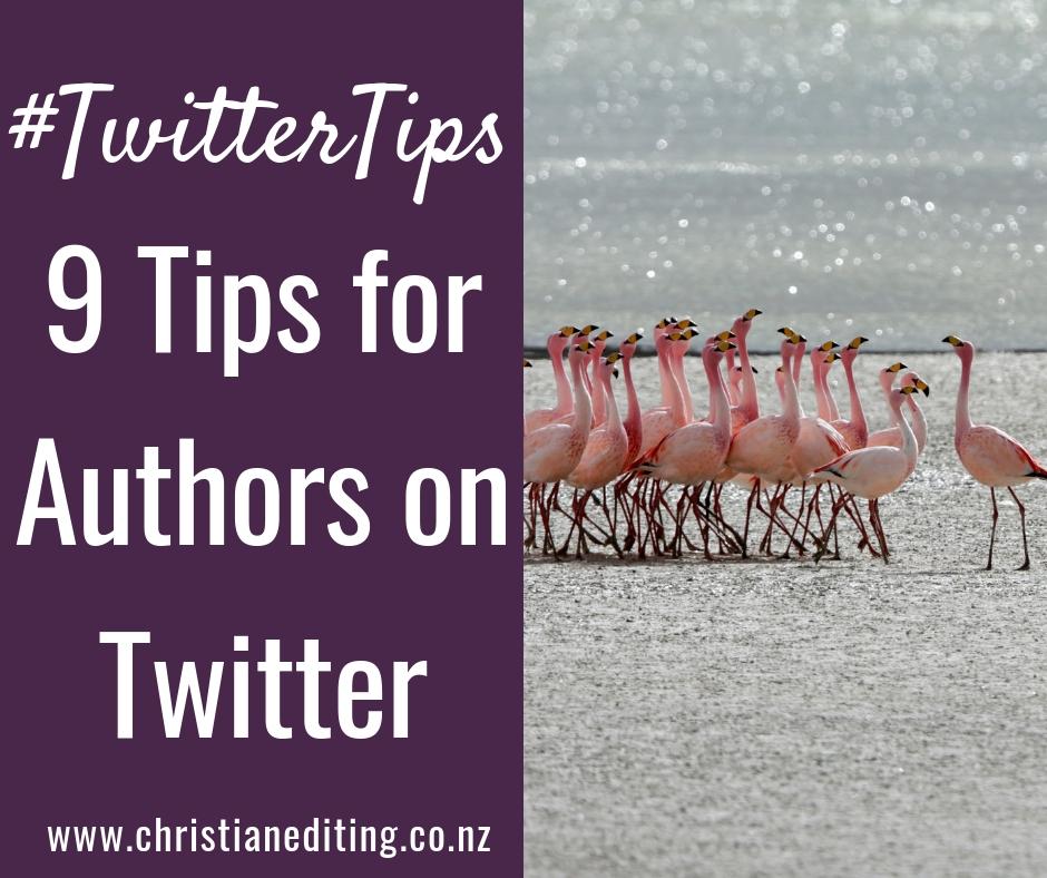 TwitterTips | 9 Tips for Authors on Twitter